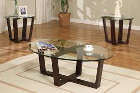 oval glass and wood coffee table oval glass coffee table set ideas eva furniture