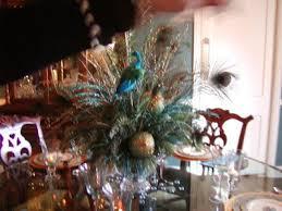 peacock centerpieces home designs peacock decorating ideas