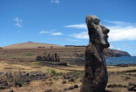 Easter Island Map Easter Island By Daniel Moore