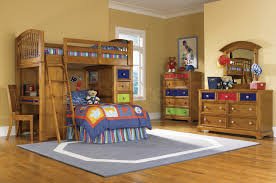 Cool Boy Bunk Beds Bedroom Modern With Brown Espresso Wooden Low Profile Bunk