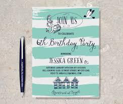teal birthday invitations free printable invitation design