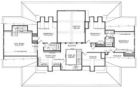plantation home floor plans house plan 86143 at familyhomeplans
