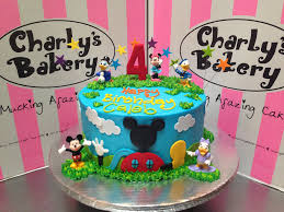 mickey mouse clubhouse u0026 friends themed 4th birthday cake u2026 flickr
