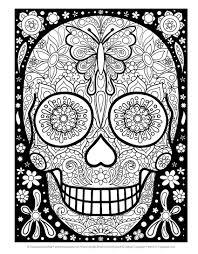 amazon com sugar skulls coloring book coloring is design