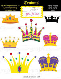 mardi gras items crown clipart digital crown clip crown crown clip