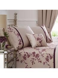 Jeff Banks Duvet Sets Jeff Banks Raven Embellished Bedding Collection Plum Ponden Homes