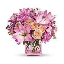 pink lilies think pink lilies at send flowers