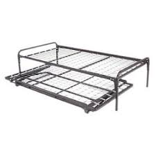 Bed Frame Metal Amazon Com Dream Solutions Dark Metal Day Bed Frame Trundle