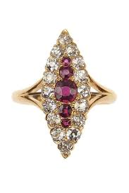 verlobungsring berlin 18 ct gold ring rubine diamanten birmingham