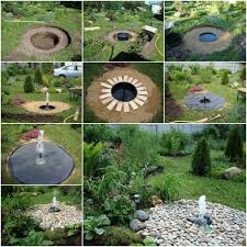 Diy Patio Fountain Diy Project Make A Buried Garden Fountain Find Fun Art Projects
