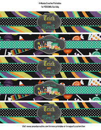 free trick or treat halloween printables from a manda creation