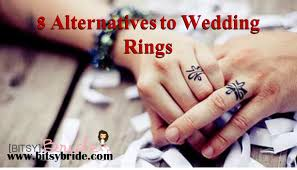 wedding band alternatives 8 alternatives to wedding rings bitsy
