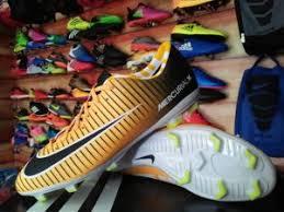 Sepatu Bola Grade Ori grosir sepatu bola nike mercurial hitam kuning list hitam grosir