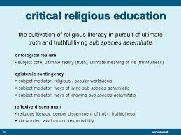 introducing critical religious education andrew wright professor