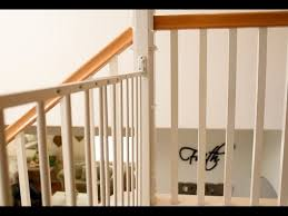 Baby Gate For Stairs With Banister How To Install A Baby Gate On Stairs Without Drilling Into