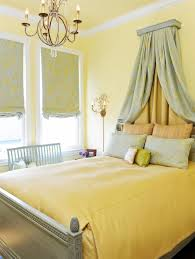Yellow And Grey Bedroom by Bedroom Cozy Yellow Bedroom With Beautiful Chandelier By Brian