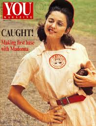 a league of their own halloween costume madonna on the cover of a magazine otcoam rare madonna photos