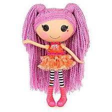 lalaloopsy loopy hair lalaloopsy soft doll peanut big top