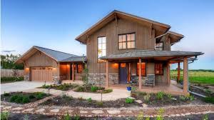 contemporary farmhouse with passive solar design hwbdo78057