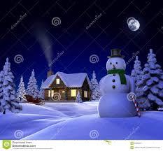 a christmas snow christmas snow cabin stock illustration image of 9420397