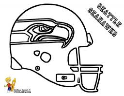 seattle seahawks coloring page for the house cool coloring pages