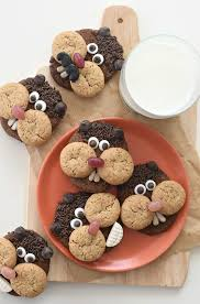 day cookies groundhog day cookies fork and beans