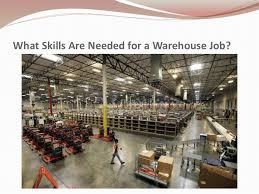 what skills are needed for a warehouse job