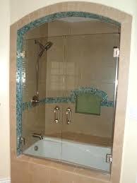 Shower Bath Doors Bathtub Door Frameless Creating Bathtub Glass Doors Shower Doors