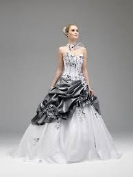 robe de mariée grise le mariage - Robe De Mariã E Grise Et Blanche