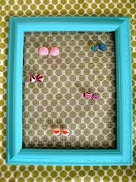 how to make an earring holder for studs 64 diy earring holder how to s guide patterns