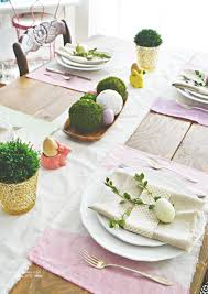 Quick Easter Table Decorations simple easter table my fabuless life