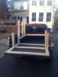 wooden truck bed diy truck bed camper build album on imgur