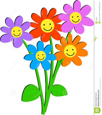 smiley face flower clipart clipart panda free clipart images