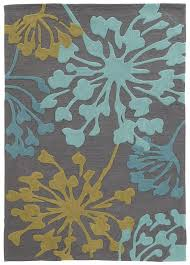 Teal And Gold Rug Varick Gallery West Wick Hand Tufted Gray Gold Area Rug U0026 Reviews