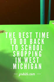 when is the best time to do back to shopping in west