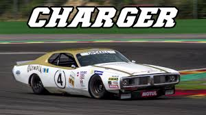 Dodge Challenger Nascar - 1974 dodge charger nascar at spa 2017 youtube