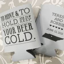 custom wedding koozies these custom wedding koozies by gracious bridal will keep your