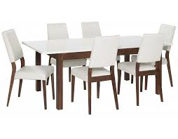 White Table Set - making a extendable dining table set