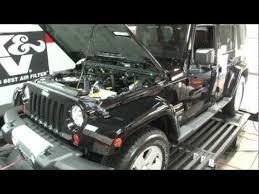 2011 jeep wrangler cold air intake 2007 2011 jeep wrangler 3 8l v6 k n air intake installation
