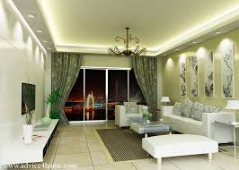 Whitegray Pop Ceiling Design And White Sofa Set Design In Living - Pop ceiling designs for living room