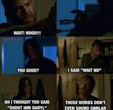 Daryl Walking Dead Meme - the walking dead thewalkingdead twd oh daryl walking dead