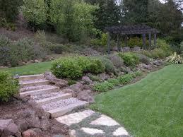 Steep Sloped Backyard Ideas 93 Best Gardening Steep Slope Images On Pinterest Gardening