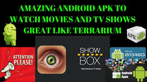 androids tv show amazing android apk to and tv shows great like