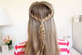 plait at back of head hairstyle braid 11 half up french braids