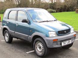 daihatsu terios used daihatsu terios cars for sale motors co uk