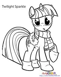 twilight sparkle pony coloring pages