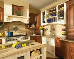 Medium Brown Cabinets Houzz - Medium brown kitchen cabinets