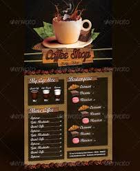 coffee shop menu template restaurant menu template 48 free psd ai vector eps