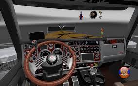 kenworth w900 long cabin accessory 1 26 4 3s interior mod ets2 mod
