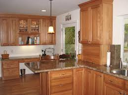 Light Oak Kitchen Cabinets Light Oak Kitchen Cabinets Mesmerizing 12 Image Hbe Kitchen